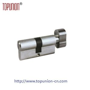 Euro Profile Solid Brass Door Lock Cylinder Lock with Knob pictures & photos