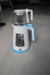 Double Shell Glass Electric Kettle with Tea Pot (ML-1632V)