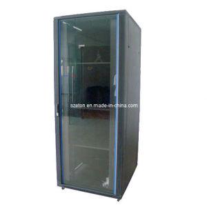 Network Rack-Safety Tempered Glass Front Door (ETEM8942)