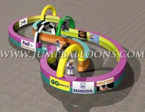 Inflatable Race Track With Sponsors′ Logo Printings (J5037) pictures & photos