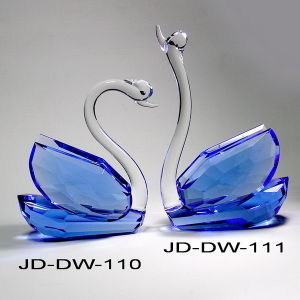 Crystal Swan Crystal Wedding Gift (JD-DW-110-111) pictures & photos