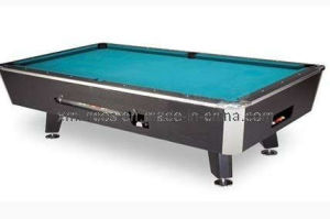 Birch Solid Wood Coin Operate Pool Table (7/8/9FT)