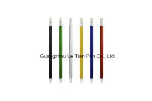 Colorful Barrel Plastic Ball Pen Push Pen Lt-L449 pictures & photos