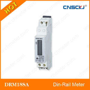 Single Phase DIN-Rail Watt-Hour Meter