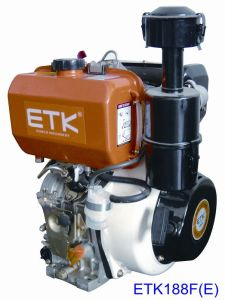 Air-Cooled Direct Injection Diesel Engine (ETK188F E) pictures & photos