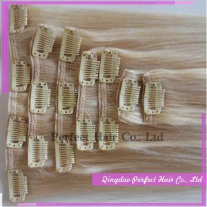 Remy Clip in Human Hair Extension pictures & photos