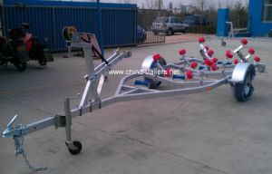 Red Roller European Style Trailer TR0201 pictures & photos