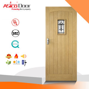 Solid Wood Glass Door Room Used Good Design for Apartment pictures & photos
