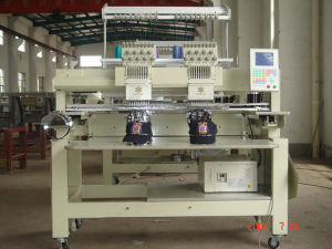 Embriodery Machine With Cap Device