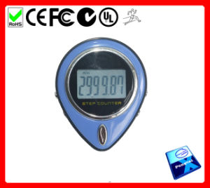 Large LCD Pedometer with Heart Rate (PT-1381B)