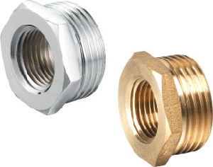 Threading Brass Pipe Fittings Plug (328003) pictures & photos