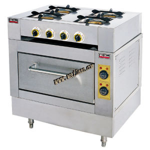 4/6-Burner Gas Range with Electric Oven (EQ-4, EQ-6)