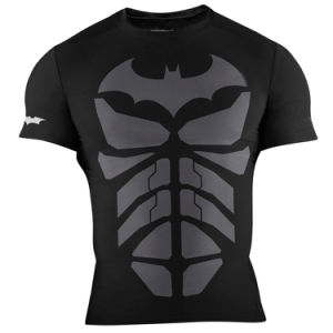 Custom Gym Training Shirts Sublimated Lycra Rush Guards pictures & photos