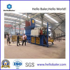 Hydraulic Automatic Waste Paper Baler Machine with CE Certificate pictures & photos
