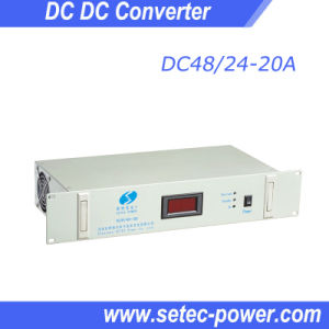 DC24V Input-DC48V Output Converter 10A/20A/30A/40A/60A/120V pictures & photos