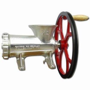 32# Meat Mincer with Big Wheel