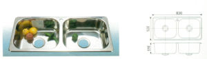 Stainless Steel Sink (S3203)
