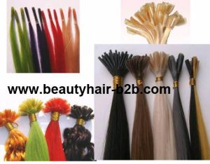 20 Inch Brazilian Nail U Tip Natural Hair Extension pictures & photos