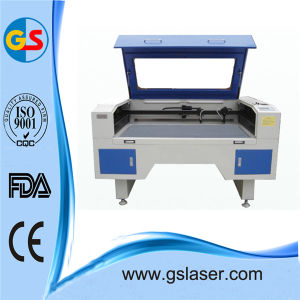 CO2 Laser Engraving and Cutting Machine GS1490 100W for Textile, Advertisement and Craft Gift pictures & photos