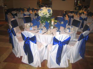 Banquet Chair Covers & Satin Sash