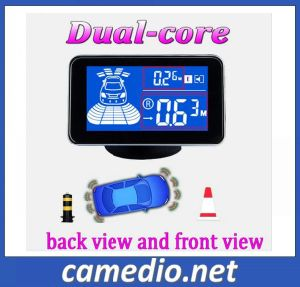 Waterproof Car Front and Rear Parking Sensor System with 4/6/8 Sensors&LCD Display Monitor pictures & photos