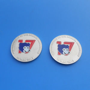 Animal Head Design Enamel Souvenir Coin pictures & photos