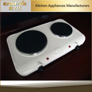 Double Burner Electric Hotplate Es-3205 Electric Hob pictures & photos