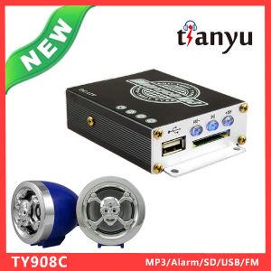 Popular Motorbike Accessories of USB SD FM Radio MP3 Audio Alarm Siren System pictures & photos