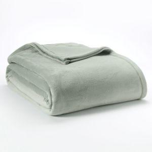 Cheap Velvet Plush Blanket, Full/Queen, Grey pictures & photos