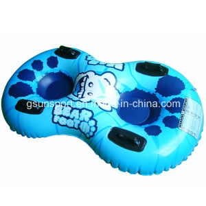 Inflatable Snowtube Two Rider Kids Tube Outdoor Winter Snow Tube