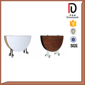 Hotel Metal Round Banquet Folding Table (BR-T008) pictures & photos