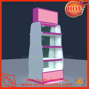 SGS Approved Metal and Wood Display Shelf for Shop pictures & photos