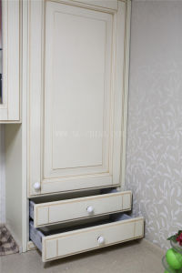 Walnut Wood Furnitures with Artificial Countertop pictures & photos