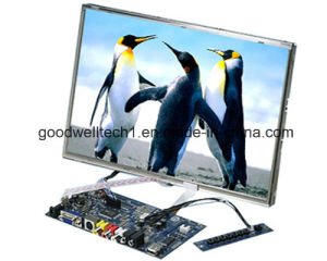 "12.1"" Open Frame LCD Module with 4 Wire Resistive Touchscreen pictures & photos"