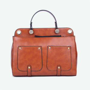 Wholesale Bags Designer Brand Large Women Bag PU Leather Handbags pictures & photos