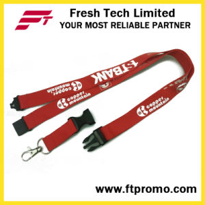 Cheap Sport Business Polyester Lanyard with Logo pictures & photos
