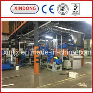 3 Stage Recycling Pelletizing Line for PE Film with Water pictures & photos