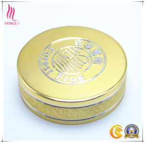 high Quality Embossing Gittery Screw Gold Caps pictures & photos