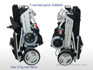 E-Throne! Electric Wheelchair/Aids Scooter/ Motorised Wheelchair/Folding Wheelchair for The Aged and The Disabled pictures & photos