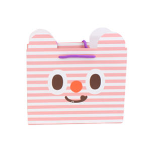 Custom Cute Waterproof Paper Bags with Cotton String pictures & photos