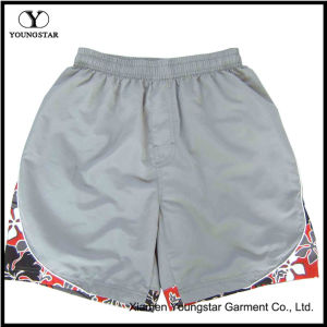 Printed Beach Shorts Elastic Waist Mens Lined Board Short pictures & photos