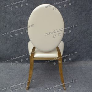 High Class Wholesale Wedding Royal Leather Chair Stainless Steel (YC-ZS25) pictures & photos