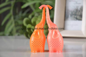 New Arrvial Elephant Shape Silicone Tea Strainer pictures & photos