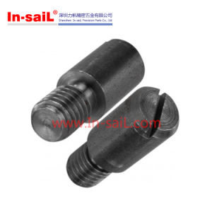 DIN927 Black Oxide Reasonable Price Slotted Shoulder Screws pictures & photos
