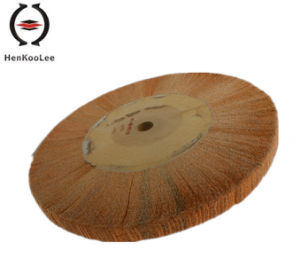 Non Woven Polishing Flap Wheel (Yellow Colour) pictures & photos