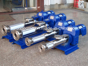 Xinglong Single Screw Pump Used for Concentrated Syrup in Sugar Industry pictures & photos