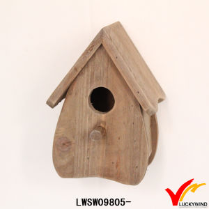 Luckywind Shabby Chic High Quality Solid Wooden Birdhouse pictures & photos