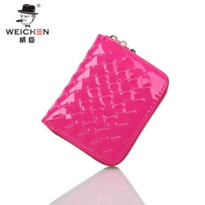 Direct Selling Short Fashion Woven Ladies Purse Casual Wallet Purse pictures & photos