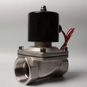 2s250-25 1 Inch Zero Pressure Stainless Steel Water Solenoid Valve
