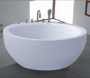 1500mm Round Free Standing Bathtub (AT-9012) pictures & photos